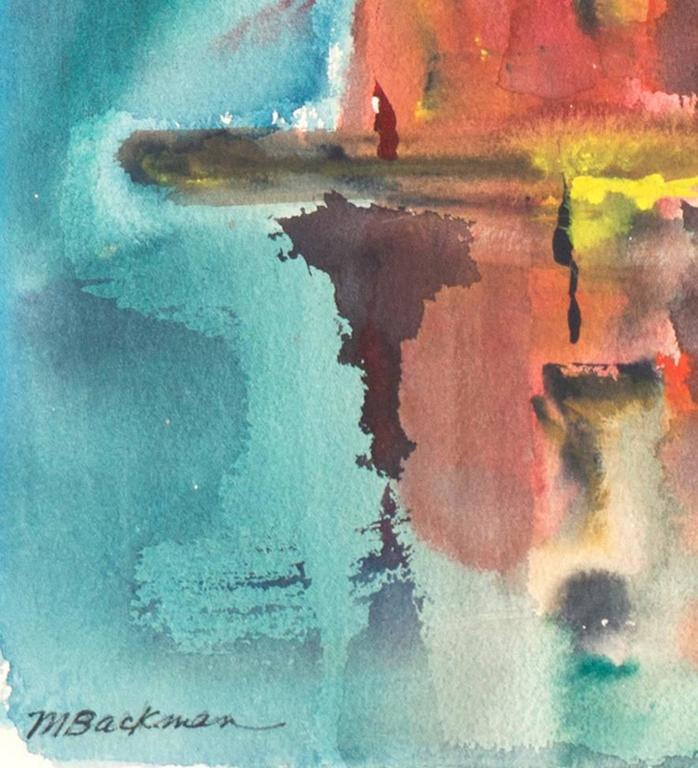 'Fort Bragg Lumber Mill', Woman Artist, California Post-Impressionist For Sale 1