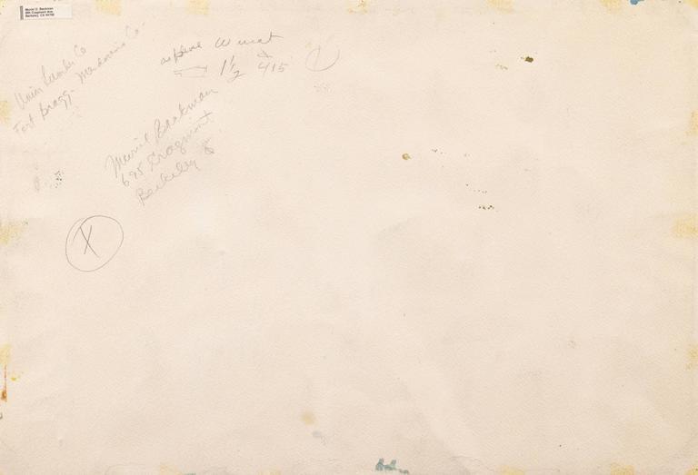 'Fort Bragg Lumber Mill', Woman Artist, California Post-Impressionist For Sale 2