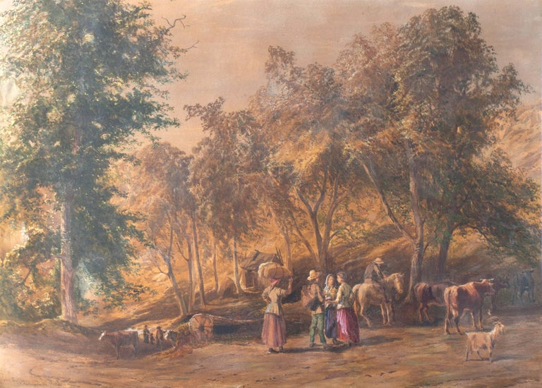 "Signed lower left ""John Faulkner, RHA"" and painted circa 1880. 
