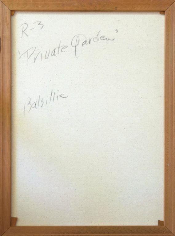 'Private Garden', Large American Impressionist oil, Hawaii, Australia, Seattle For Sale 3