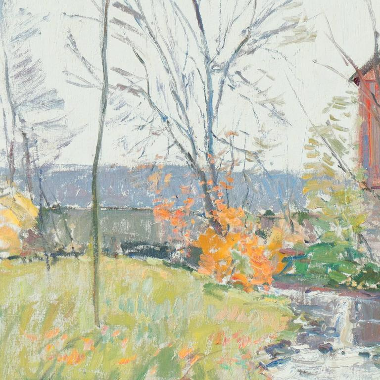 'Rochester, New York', American Impressionist, National Academy of Design For Sale 1
