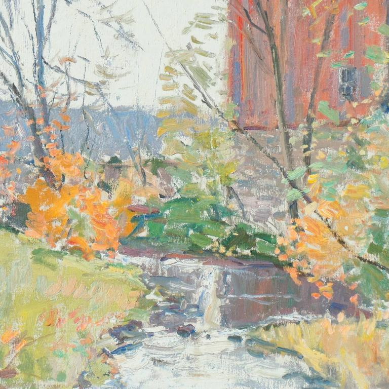 'Rochester, New York', American Impressionist, National Academy of Design For Sale 2