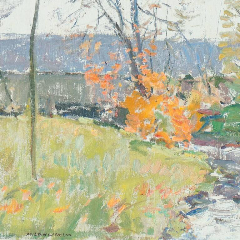 'Rochester, New York', American Impressionist, National Academy of Design For Sale 3