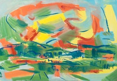 'Sun Rise over the Central Valley', CWS, California Modernist Landscape