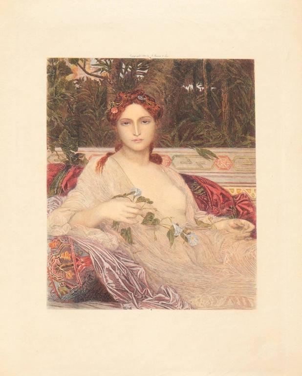 Albaydé - Print by Alexandre Cabanel