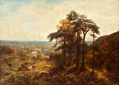 Panoramic View of Guildford in the County of Surrey