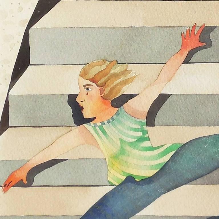 'Minotaur Descending', California woman artist, For Sale 1