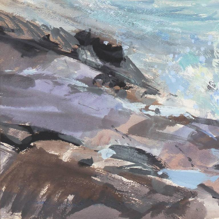 'Breaking Surf, San Diego', Worcester Art Museum School, San Bernadino College For Sale 1