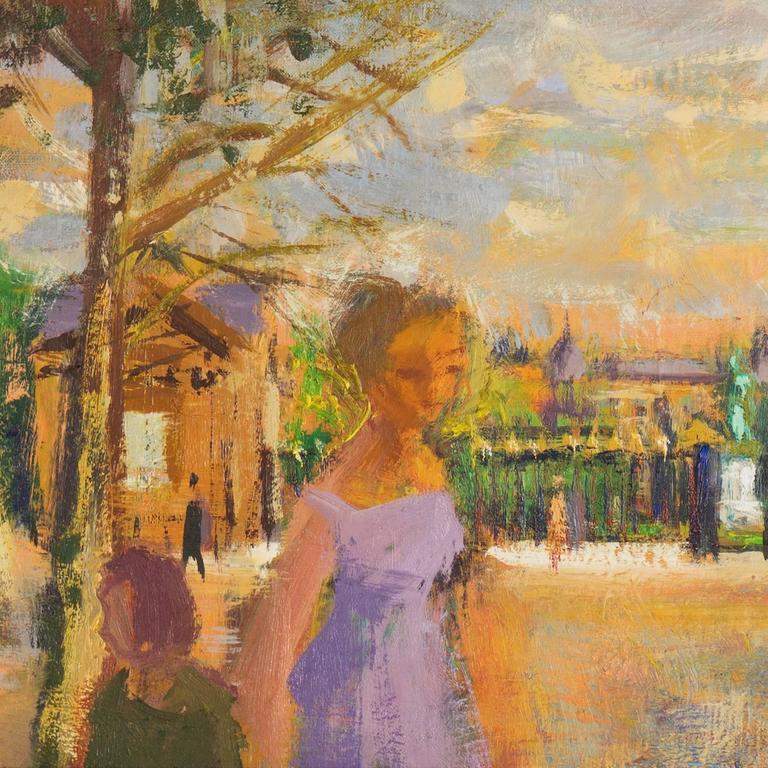 Daniel du janerand jardin des plantes paris painting for Art du jardin zbinden sa