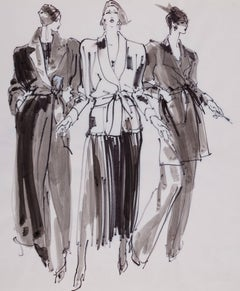 Anne Klein Smoking Jacket & Dressing Gowns