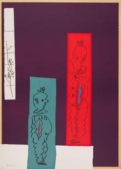 Pablo Picasso - Deux Clowns
