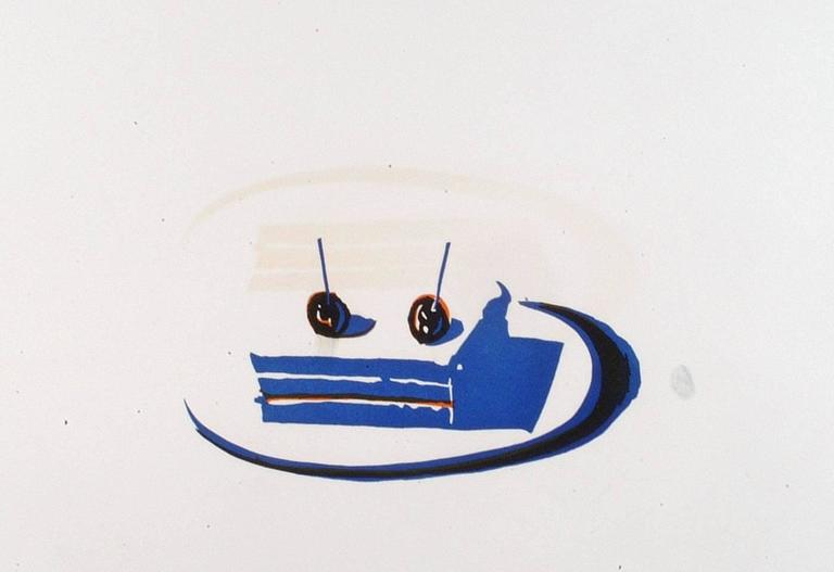 Wayne Thiebaud - Sandwich, from Seven Still Lifes and a Rabbit Portfolio 1