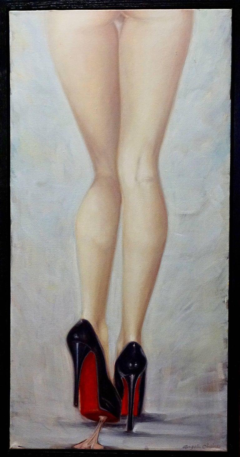 Angela China Portrait Painting - Gumshoe