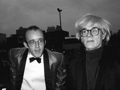 Keith Haring and Andy Warhol