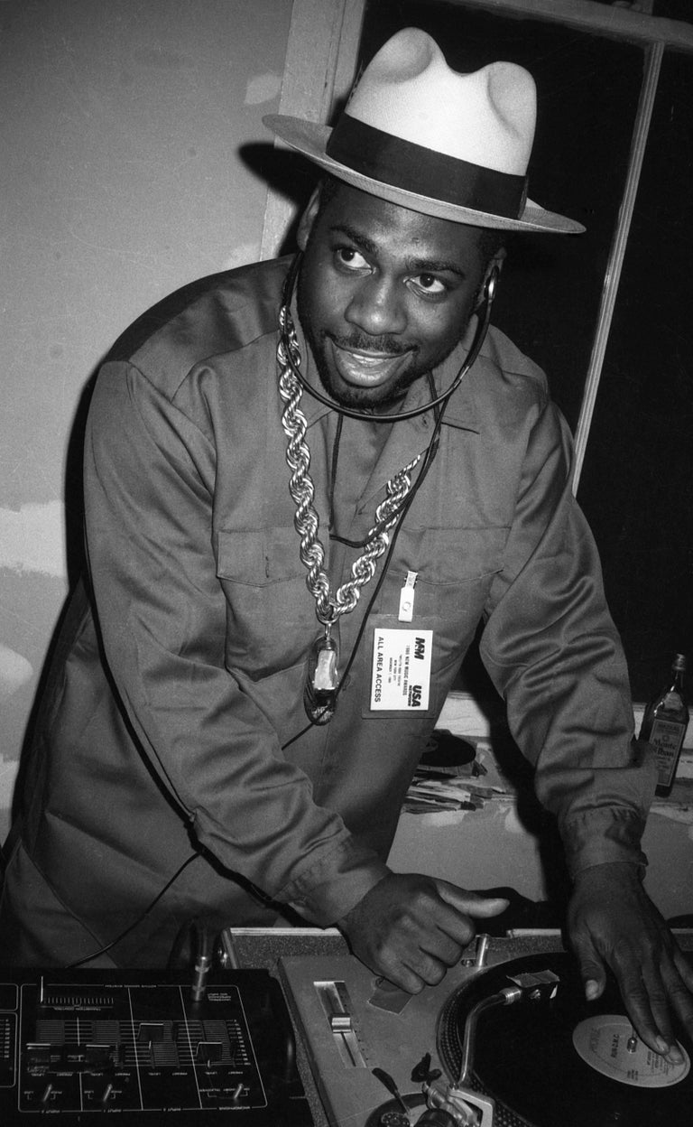 Ricky Powell Black and White Photograph - Jam Master Jay