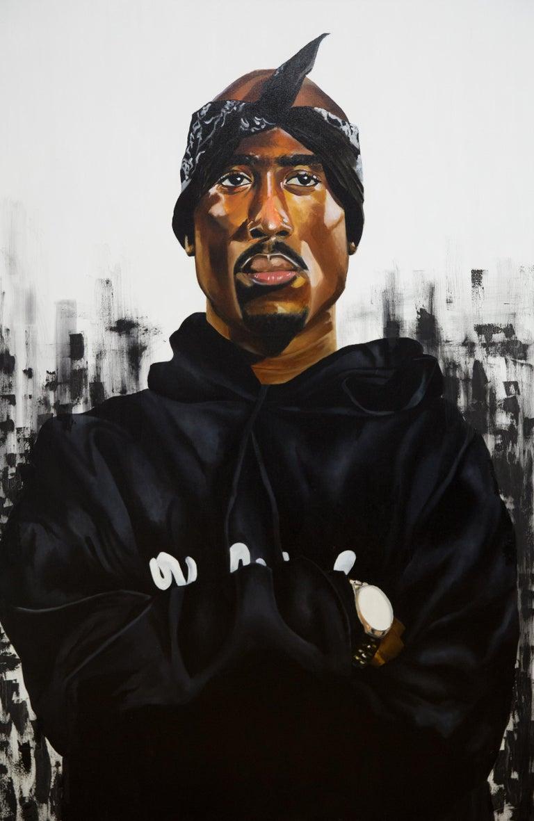 Amar Stewart Portrait Painting - Tupac