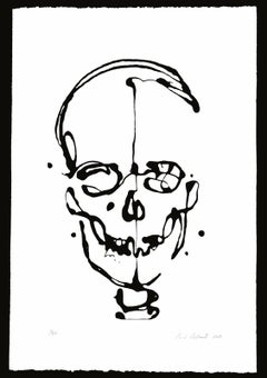 Skull Screenprint