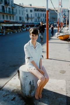 Catherine Deneuve in St. Tropez, 1961