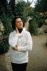 Portrait of Consuelo Crespi at her Rome Palazzo, 1957