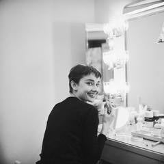 Audrey Hepburn Backstage at Ondine