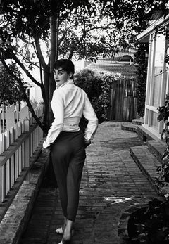Audrey Hepburn At Her Beverly Hills Apartment