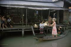 Tiger Morse Visits a Straw Hat Maker, Bangkok, 1962