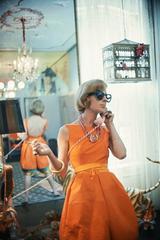 Tiger Morse at A La Carte #2, New York, 1962