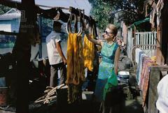 Tiger Morse in the Klongs, Bangkok, 1962