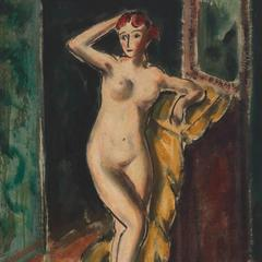 Standing Female Nude (double-sided)