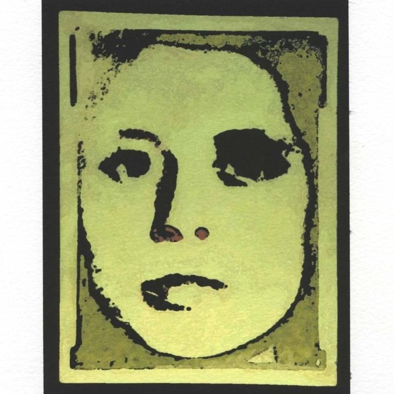 Naomi Savage Portrait Photograph - Mask