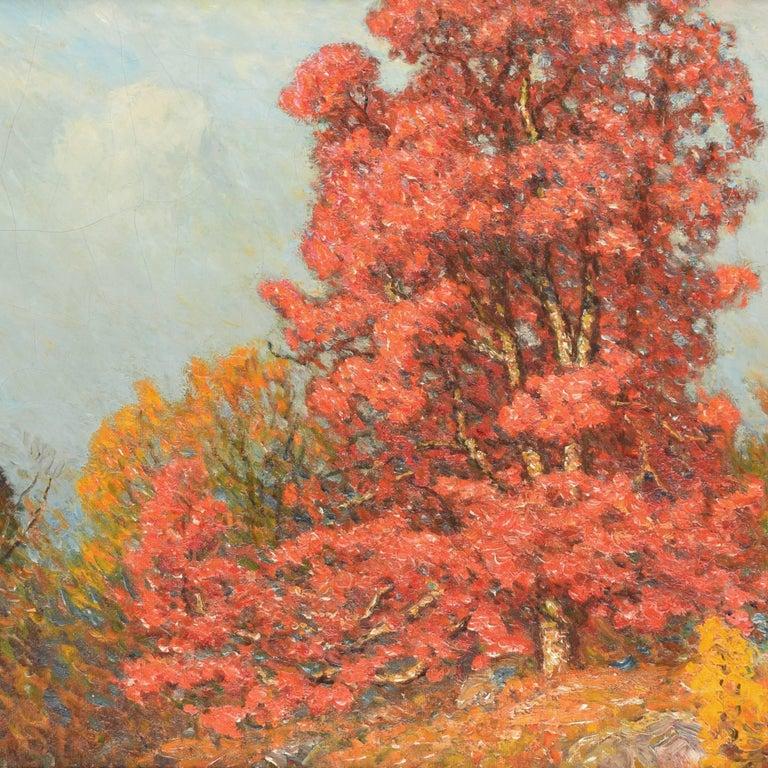 John Joseph Enneking Landscape Painting - Autumn Landscape