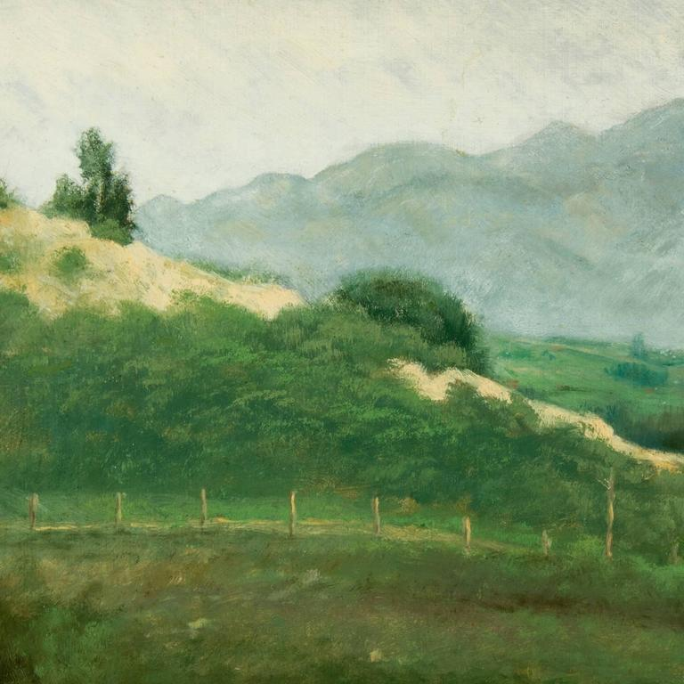 Benjamin Hartley Landscape Painting - Elysian Park, Los Angeles, California,