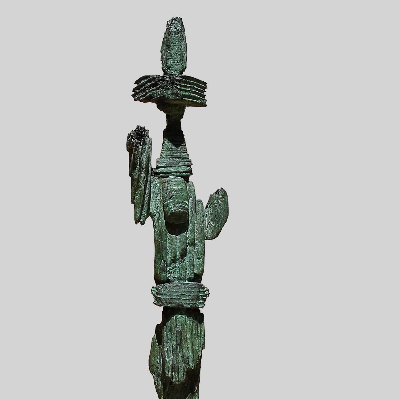 Mirko Basaldella Abstract Sculpture - Totem