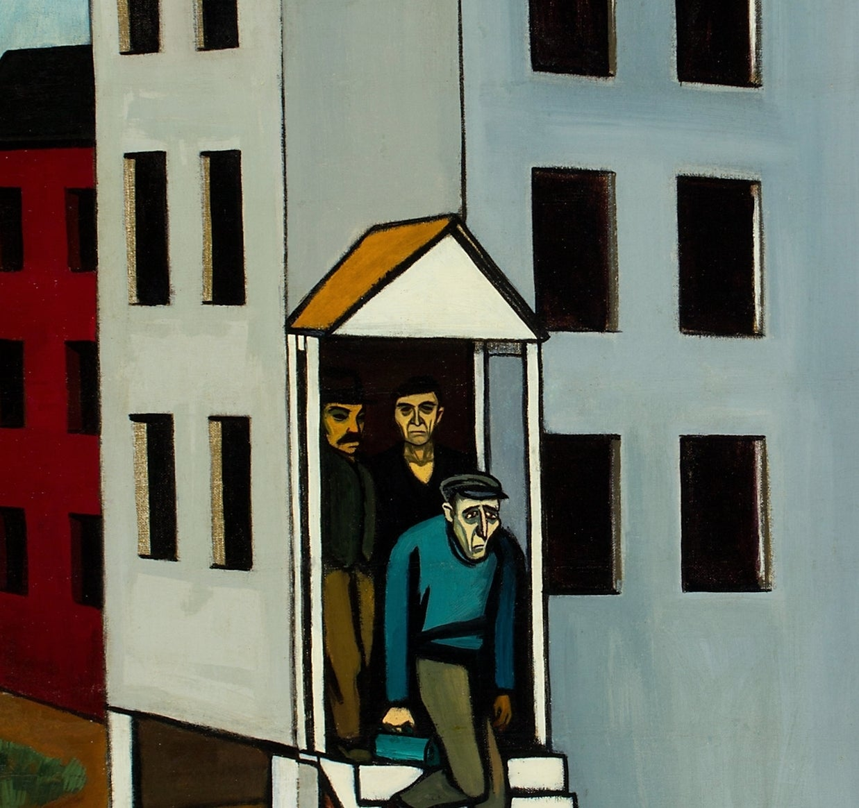 The Factory - American Modern Painting by Gregorio Prestopino