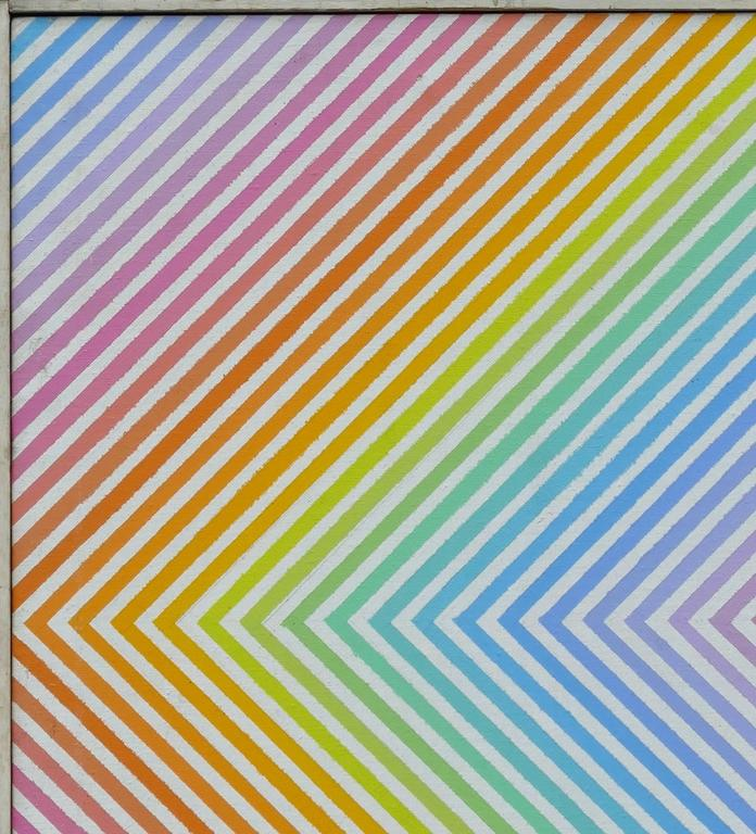 Untitled - Abstract Geometric Painting by James Norman