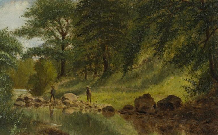 Benjamin Hartley On The Marmaton River Kansas