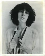 Vintage Original Patti Smith Press Photo