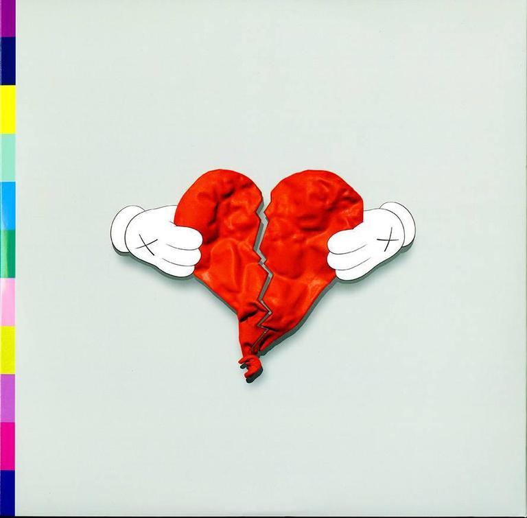 KAWS Print - Kanye West 808s & Heartbreak