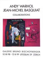 Vintage Warhol, Basquiat Exibition Poster