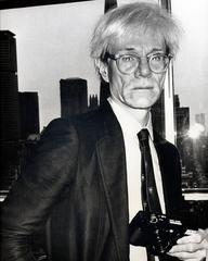 Unknown - Fernando Natalici, Rare ANDY WARHOL Portrait