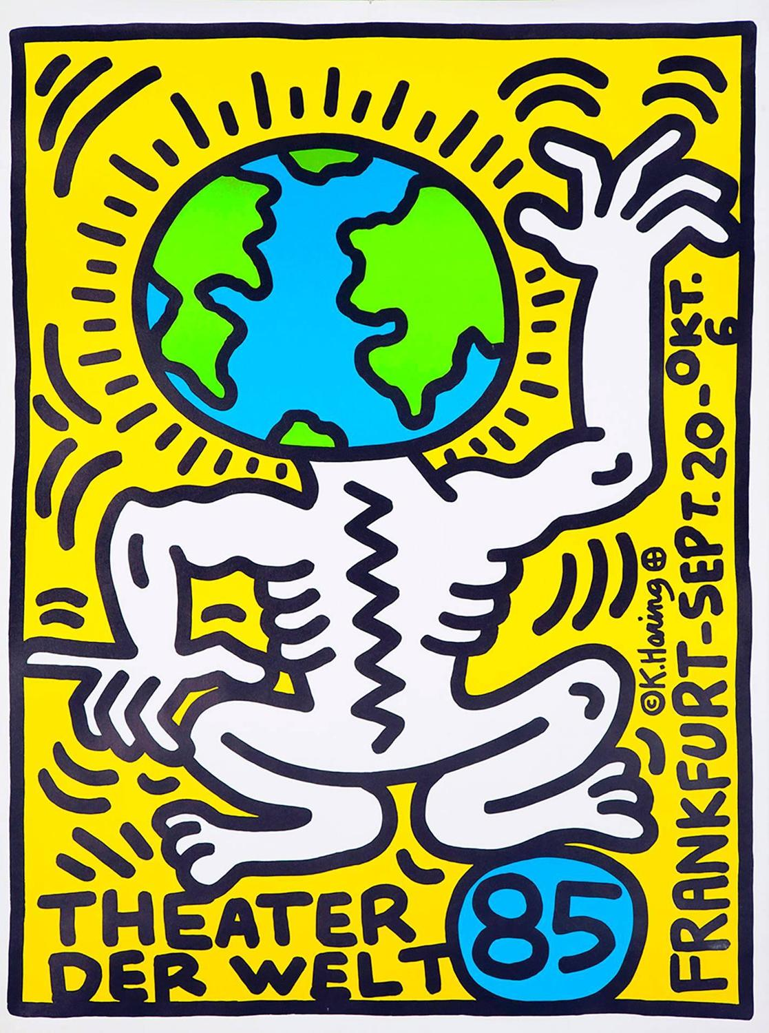 Keith Haring Keith Haring Theater Der Welt Poster At
