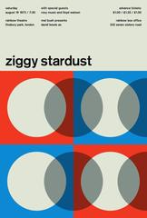 David Bowie, Ziggy Stardust, A Limited Edition Graphic Design Print