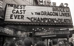 """The Dragon Lives,"" Times Square New York, 1978"