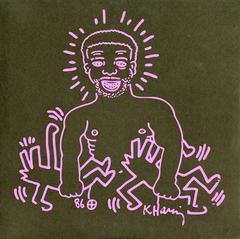 Rare Keith Haring Record Art