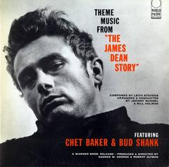 Vintage James Dean Vinyl Record Soundtrack by Chet Baker