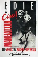 Andy Warhol, Edie Sedgwick, Vintage Ciao Manhattan Movie Poster