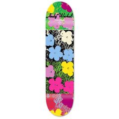 Warhol Flowers, A Rare Limited Edition Skate Deck
