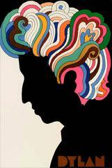 Vintage Bob Dylan Souvenir Poster