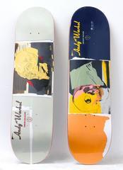 Warhol Skull Skate Decks