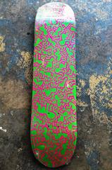 Keith Haring Skate Deck